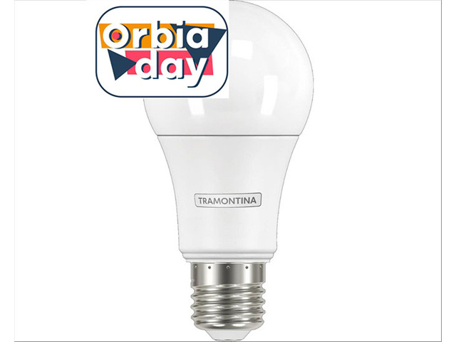 Lâmpada LED Tramontina Bulbo E27 560 lm Bivolt 6500 K Luz Branca 7W