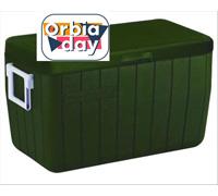 Caixa Térmica Coleman Verde Militar 45 Litros