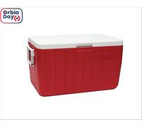 Caixa Térmica Coleman  Vermelha 45 Litros
