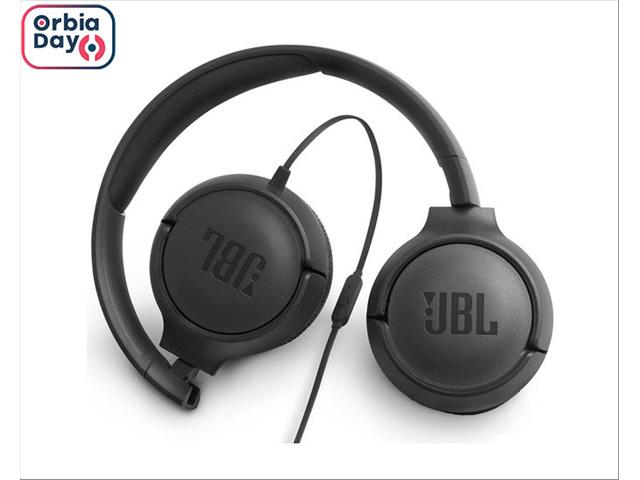 Fone de Ouvido JBL T500 Headphone Preto JBLT500BLK