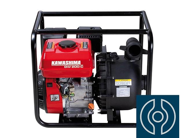 Motobomba Kawashima GW200-C 2 gasolina 212cc Transp. Químicos
