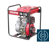 Motobomba Kawashima DW-236E 2 motor diesel 42hp 211cc