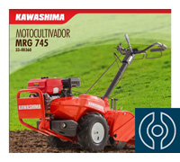 Motocultivador KWS MRG-745  Kawashima 7HP Gasolina - 0