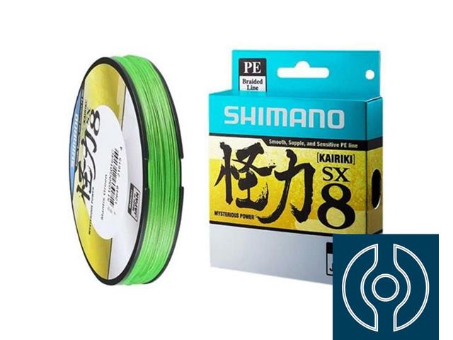 Linha Multifilamento Shimano Kairiki PE 30LB (0.25mm) X 300M Verde