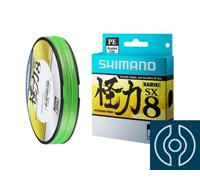 Linha Multifilamento Shimano Kairiki PE 30LB (0.25mm) X 300M Verde - 0