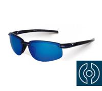 Óculos Polarizado para Pesca Shimano Tiagra Preto com Lente Azul