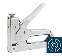 Grampeador e Pinador Vonder Manual em Chapa de Aço Cromado