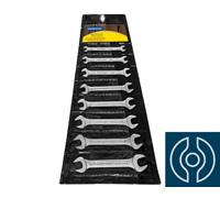 Jogo de Chaves Fixas Tramontina Basic com Corpo em Aço Cromado 8 Peças