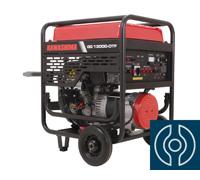 Gerador a Gasolina Kawashima GG13000DTF Trifásico 380v Monofásico 220v