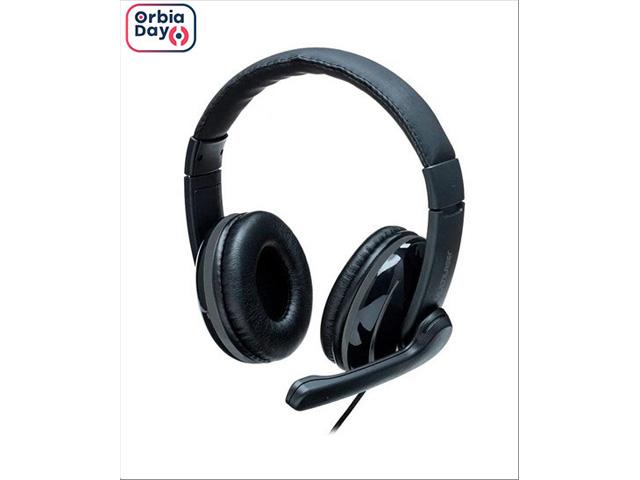 Headset Pro Multilaser PH316 P2 Preto/Cinza