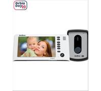 """Vídeo Porteiro Intelbras IV 7010 HF Viva Voz com Display de 7"""" Branco - 0"""
