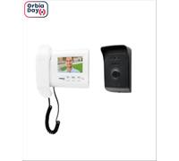 Vídeo Porteiro Intelbras IVR 1010 com Display Branco