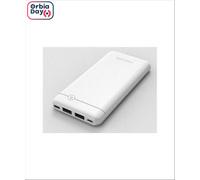 Carregador Portátil Philips Power Bank Ultra Compact Branco 4.000 mAh