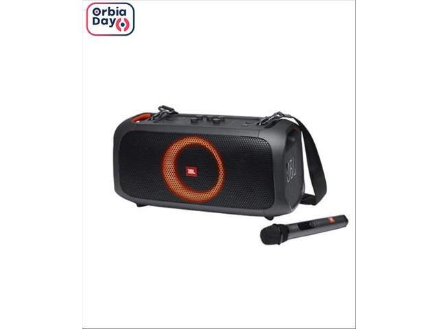 Caixa de Som Bluetooth JBL PartyBox On The Go 100W  C/Microfone S/Fio